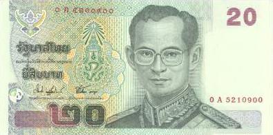 Money In Thailand Koh Chang Island Thailand